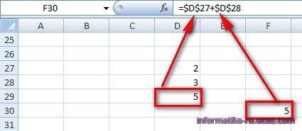 Абсолютная ссылка в Excel  offisnyru